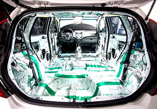 Шумоизоляция салона машины